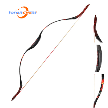 Toparchery epoxy resin traditional recurve bow 30-50lbs one-piece outdoor bow shooting practicing 1 piece diameter 60cm arcehry straw grass target shooting practice recurve traditional compound bow slingshot training