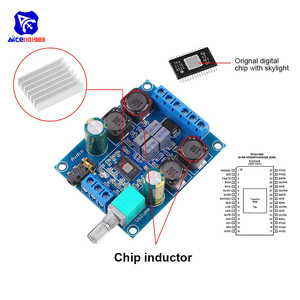 Image 4 - diymore TPA3116 D2 50Wx2 Dual Channel DC 4.5 27V Digital Power Amplifier Board 2 CH Stereo High Efficiency Reverse Protection