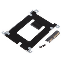 For Dell Latitude E5420 E5520 SATA Hard Drive Caddy Bracket &Connector D80V4(China)