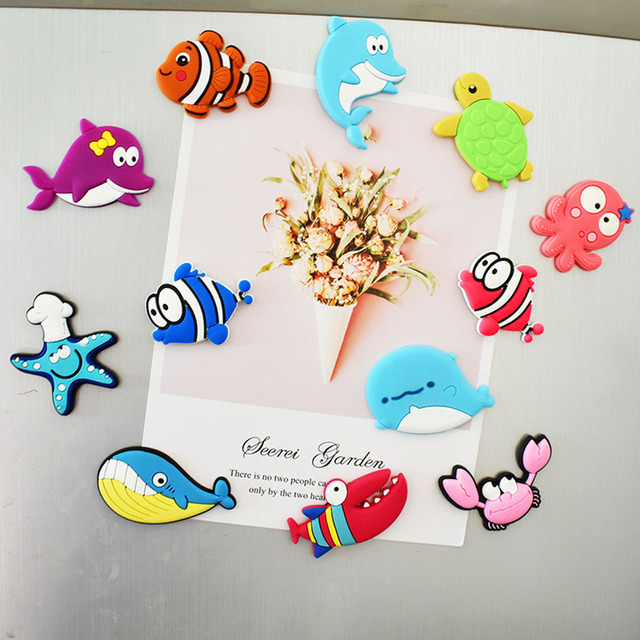 10Pcs/lot 3D Cartoon Cars Fridge Magnets for Kids Magnets for Refrigerators for Home Decor Kids Toys Boys Gifts 5