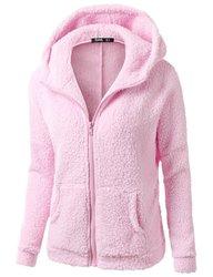 Зимние весенние женские флисовые толстовки с длинным рукавом, толстовки, куртки, модные повседневные женские ветрозащитные пальто 20