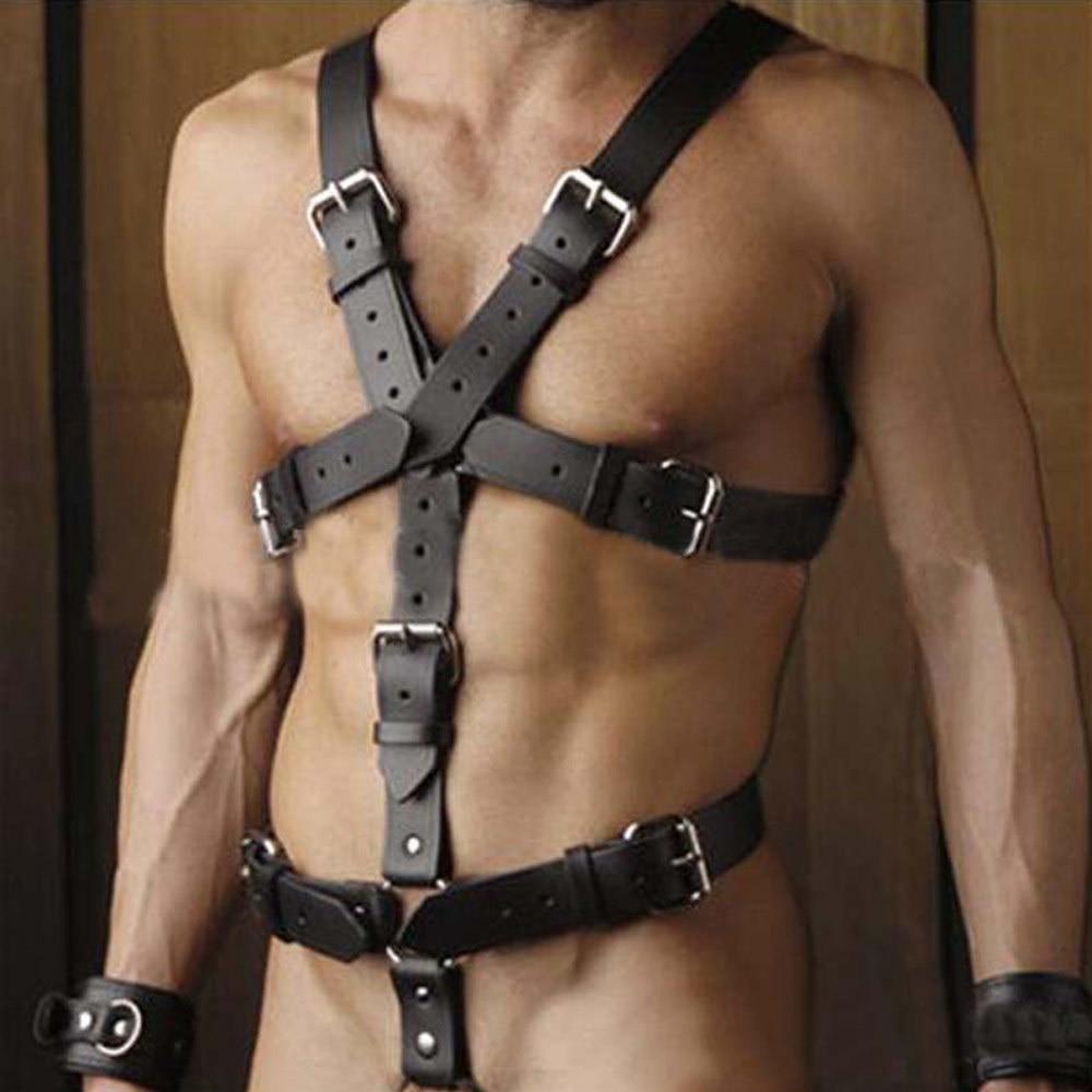 Strict Bdsm Male Full Body Harness Strict Bdsm Male Full Body Harness