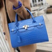 TEAEGG Women 2019 Luxury Design Alligator Handbags Women Bag