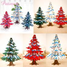 PATIMATE Christmas Wooden Tree Merry Decorations For Home Ornament 2019 Navidad Natal Gifts New Year 2020
