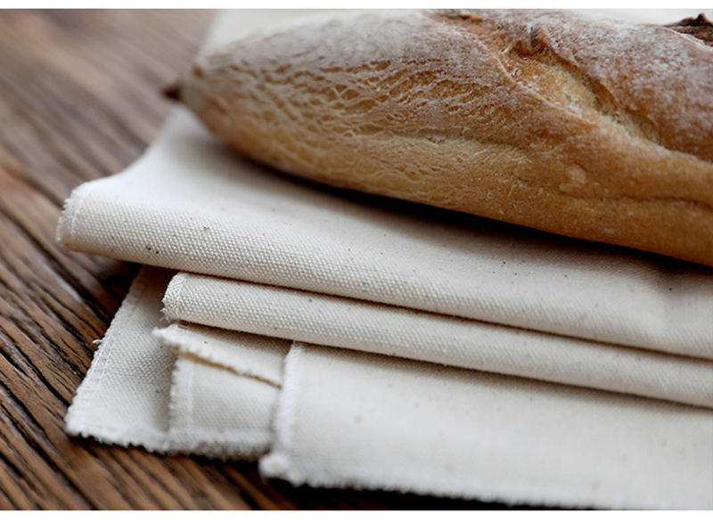 Proofing Linen Flax Fermented Cloth Dough Baker Pan Proving Bread Baking Tool
