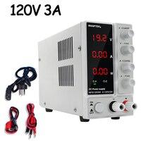Lab Switching Power Supply DC Adjustable 120V 3A Bench Source Digital Variable 3 digit Display 110V 220V Voltage Regulator