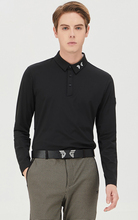 new golf shirts for man lovers golf clothes mens long sleeves shirts basic classical long sleeves stretch quick dry golf apparel