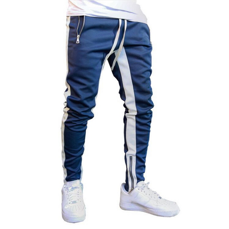 CYSINCOS 2019 Fashion Streetwear Sweatpants Joggers Causal Sportswear Pants Men Black White Men's Hip Hop Sweatpants Trousers
