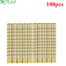 100pcs/pack 4LR44 Batteries L1325 6V Primary Dry Alkaline Battery Cells Car Remote Watch Toy Calculator