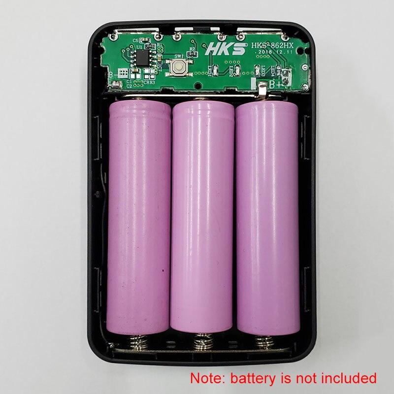 235.76руб. 28% СКИДКА|3 шт 18650 зарядное устройство чехол банк питания чехол DIY коробка 3 usb порта и распродажа|Переносное зарядное устройство| |  - AliExpress