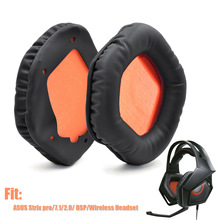 Replacement Headphone Earpads Cover for Asus STRIX 7.1 STRIX 2.0  Higher Quality Soft Ear Pads Cushion for Asus STRIX PRO