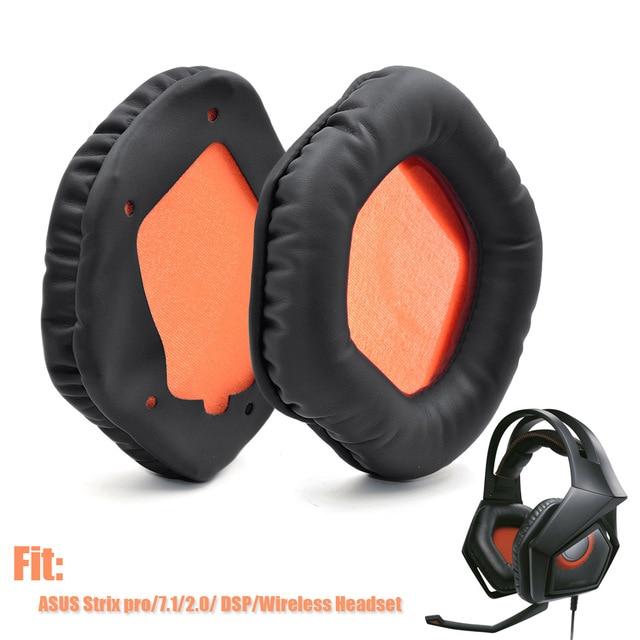 交換ヘッドホンイヤーパッドasusストリックス7.1ストリックス2.0高品質ソフト耳パッドクッションasusストリックスプロ