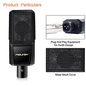 Image 2 - FELYBY BM1000 profesyonel ses stüdyo Karaoke kondenser Mikrofon için bilgisayar/dizüstü/PC kayıt bm 800 yükseltilmiş Mikrofon