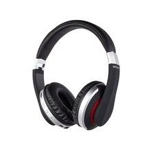 цена на Bluetooth Headset Wireless Earphone Foldable Stereo Gaming Headphone with Microphone TF Card FM for PC Phone Mp3
