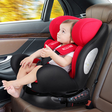 Child safety seat car with baby reclining sleepable portable 0-12 years old ISOFIX + LATCH connection