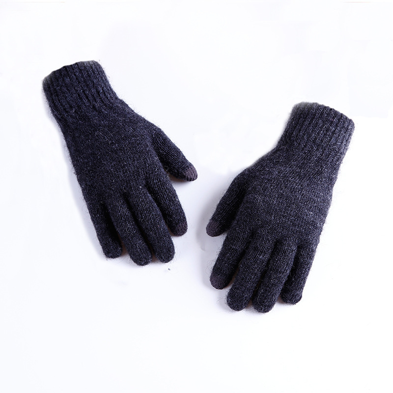 Handmade Knitted Winter Gloves Women Men Multi-Function Touch Screen Gloves Unisex Soft Warm Mitten For Smartphones Luvas