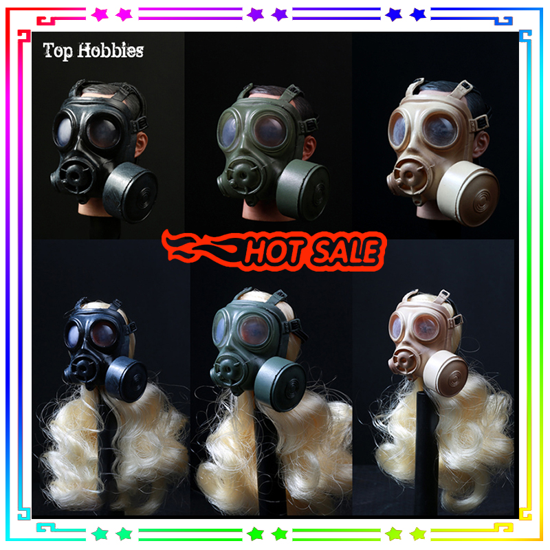 1/6 Gasmasker Gas Mask 1/6 Gas Mask 1/6 Swat Gas Mask Old Mascara De Gas Militar 1:6 German Pig Nose Shape SDU SWAT 2 Color