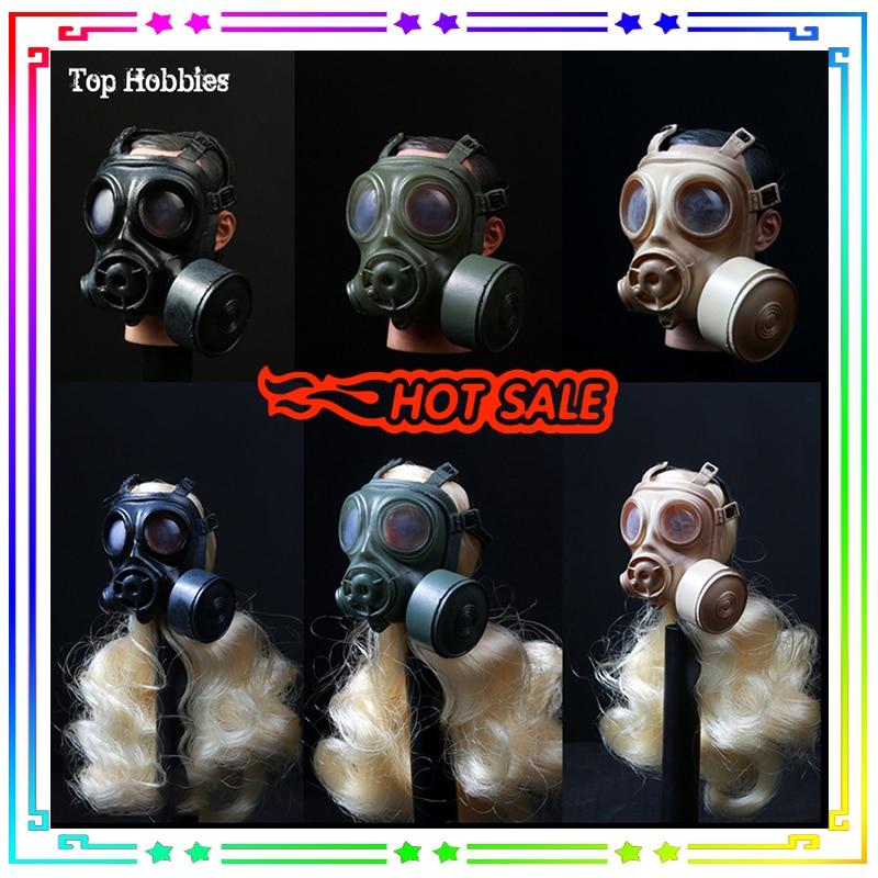 1/6 Gasmasker Gas Mask 1/6 Gas Mask 1/6 Swat Gas Mask Old Mascara De Gas Militar 1:6 German Pig Nose Shape SDU SWAT 2 Color