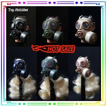 1/6 gasmasker gas mask 1/6 Gas Mask 1/6 swat gas mask old mascara de gas militar 1:6 German Pig Nose Shape SDU SWAT 2 Color goodbaby 6 1 v2502