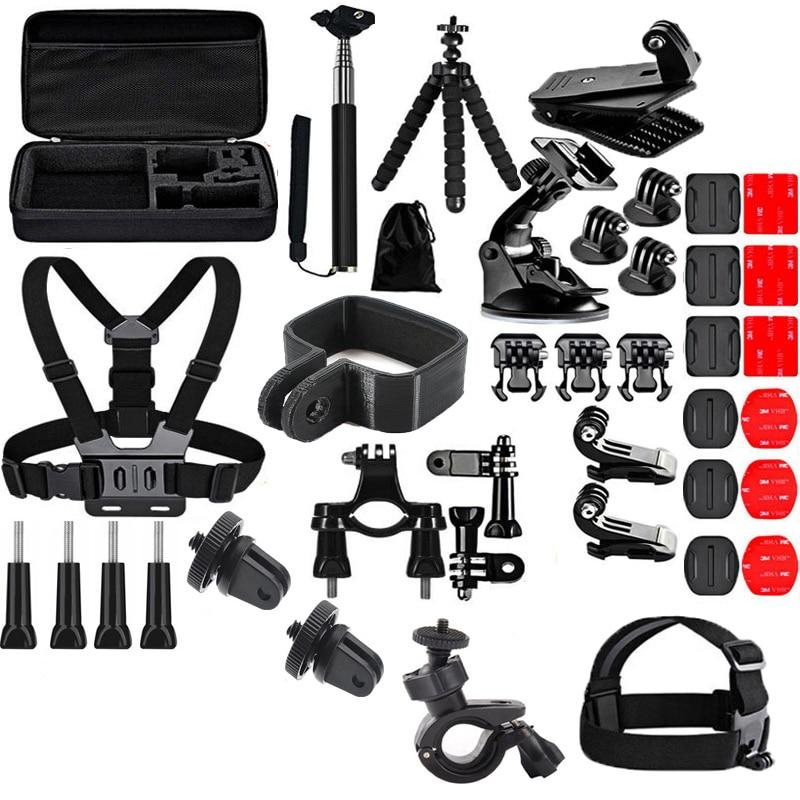 40 In1 Pocket Camera Kit Clip Tripod Selfie Stick Screw Strap Bracket Portable Case Bag For FIMI PALM Camera Accessories