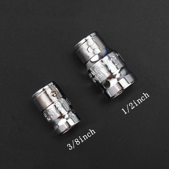 40 sztuk 1/2in 3/8in adapter chwyt napędowy Hex Torx XZN Spline gwiazda zestaw kluczy nasadowych gniazdo metryczne zestaw Ratchet Driver klucz nasadowy