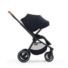 Kidsworld/прогулочная коляска с высоким пейзажем, может сидеть Двусторонняя корзина для сна, детская коляска