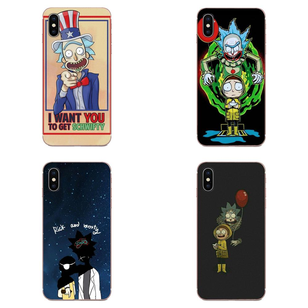 Funny Cartoon Comic Meme Rick And Morty Design For Galaxy J1 J2 J3 J330 J4 J5 J6 J7 J730 J8 2015 2016 2017 2018 mini Pro image