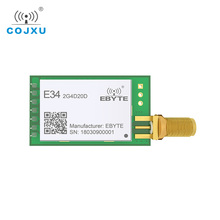 E34 2G4D20D nRF24L01P 2,4 GHz 20dBm 2,4 GHz Módulo de radiofrecuencia inalámbrico de largo alcance 2km UART MÓDULO TRANSCEPTOR rf de largo alcance