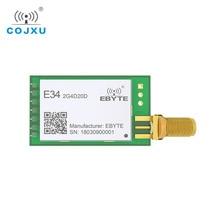 E34 2G4D20D nRF24L01P 2.4GHz 20dBm 2.4GHz rf وحدة لاسلكية طويلة المدى 2 كجم UART طويلة المدى جهاز بث استقبال للترددات اللاسلكية وحدة