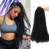 18inch 22strands Passion Twist Hair Crochet Braid Extensions Synthetic Crotchet Hair Water Wave Braiding Hair 1