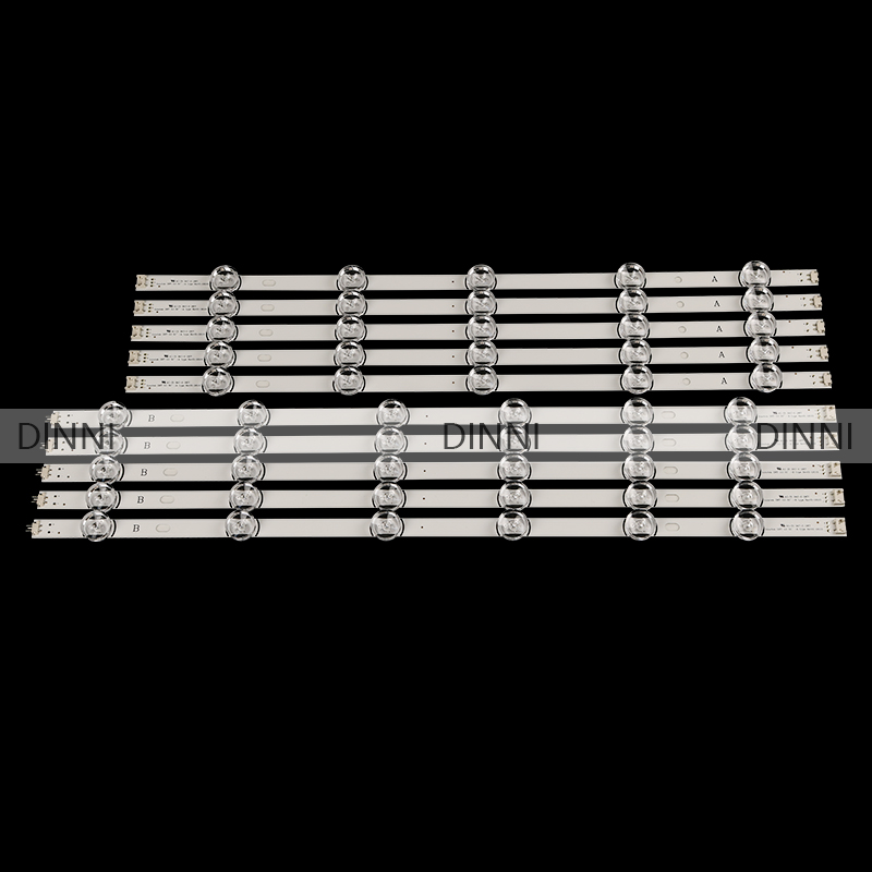 10pcs LED Strip For LG Innotek DRT 3.0 55