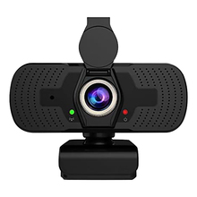 Web-Camera Cover Microphone Computer Webcam Video-Conference Live-Streaming 1080P Full-Hd