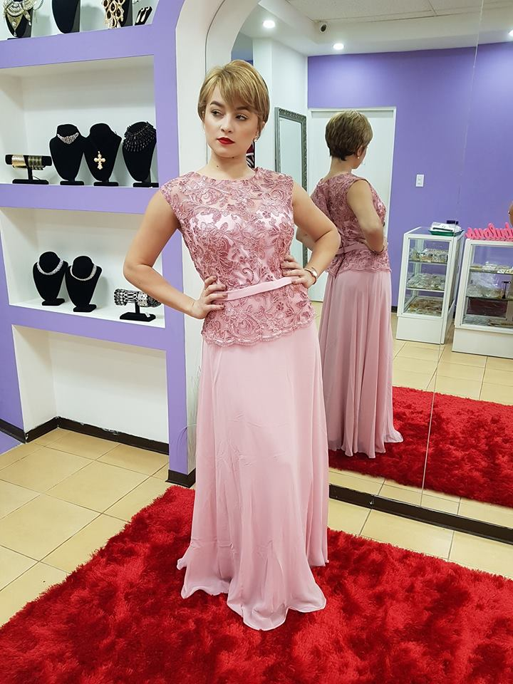 Long Mother Of The Bride Dresses For Weddings Party Chiffon Blush Sleeveless Lace Sashes Wedding Guest Gowns Vestido De Madrinha
