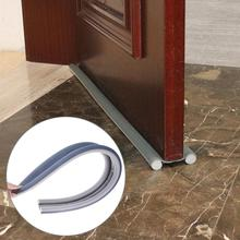 98cm Flexible Door Bottom Seal Windproof Dustproof Sealing Tape Strip Guard Sealer Stopper Wind Sound Blocker Soundproof Seal