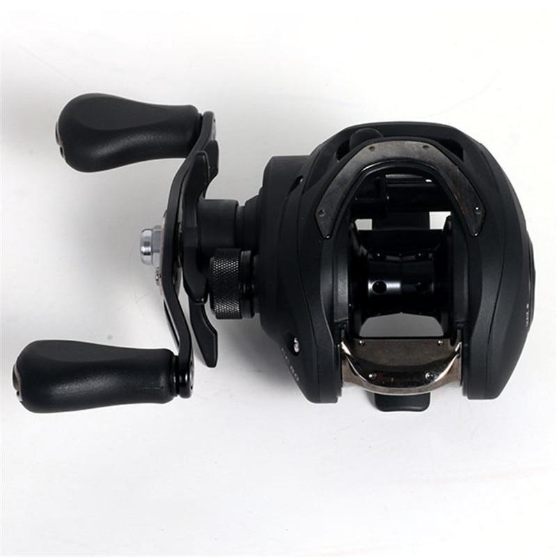 Carretel de pesca rotativa antiderrapante aperto gota