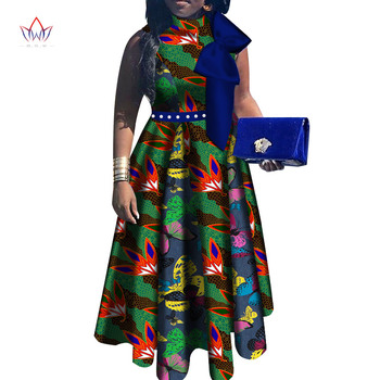 african clothes for Women short sleeve new summer long dress 2019 Dashiki africa riche bazin ladies clothes Plus Size WY5150