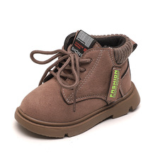COZULMA Baby Boy Boots Girls Fashion Boots Children Shoes Autumn Winter Kids Soft Warm Boots Shoes Boys Girls Fashion Sneakers