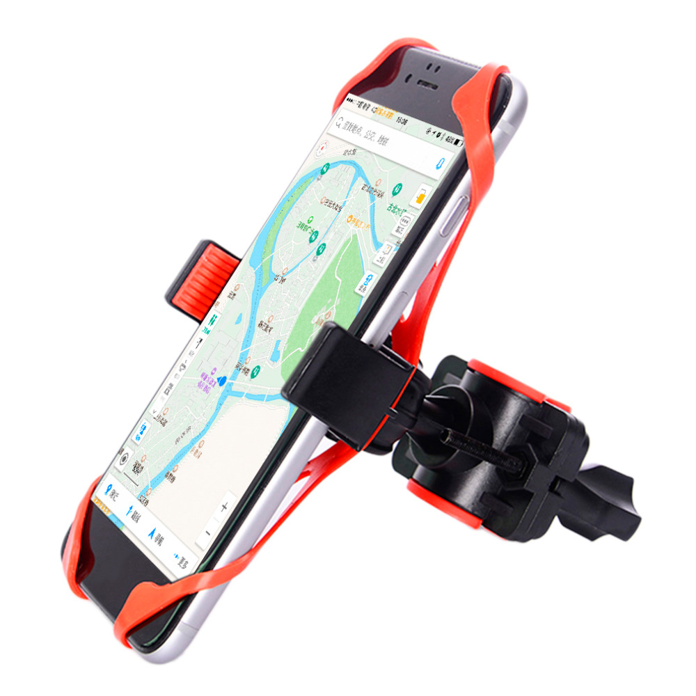 Mount <font><b>Bike</b></font> Handlebar Rack Bicycle Multifunctional Universal <font><b>Holder</b></font> MTB Mountain Mobile Motorcycle Silicon Support For Cell <font><b>Phone</b></font> image