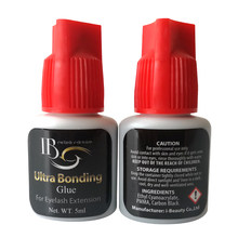 I Beauty 2-3 Second Fast Dry Glue For Lashes 1 bottle/lot Ultra Bonding glue Red Cap I Beauty Glue For Eyelash Extension 5 ml(China)