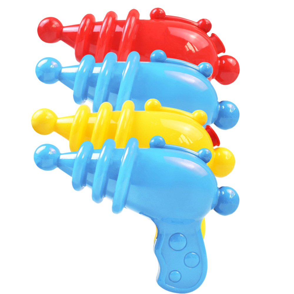4pcs Funny Water Blaster Summer Beach Water Toy Portable Water Shooter Durable Water Shooting Toys for Kids Boys Girls  3 Mixed