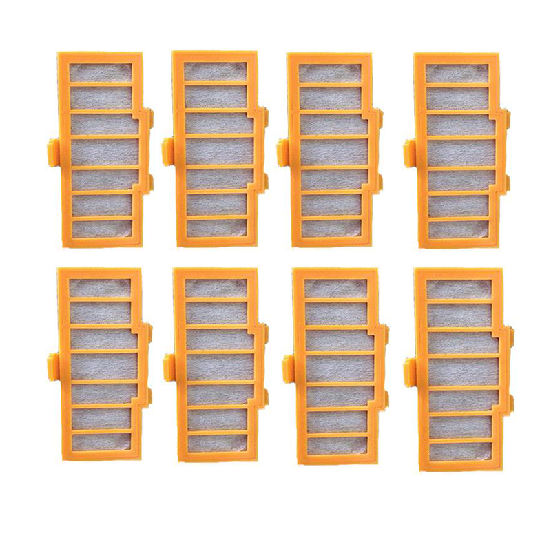 HEPA Filter for Robot Vacuum Cleaner A590, 8pcs/ pack, Home Appliance Parts