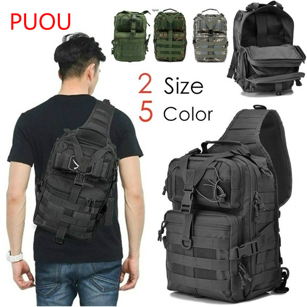 2019 Military Tactical Backpack Assault Pack Hiking Backpacks Molle Waterproof Backpack  For  Hiking Camping Tactical Bag