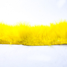 Hot Explosions Turkish Feather Cloth Edge 200 * 9CM Wedding Dress Decoration DIY Jewelry Fluffy Art Clothing Accessories