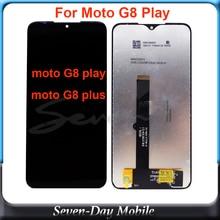 لموتورولا G8Play G8plus شاشة LCD تعمل باللمس XT2019 xt2015 digizpeter الجمعية استبدال ل موتو g8 اللعب G8 زائد LCD