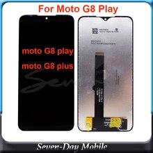 Para motorola g8play g8plus display lcd tela de toque xt2019 xt2015 digiziter assembléia substituição para moto g8 jogar g8 mais lcd