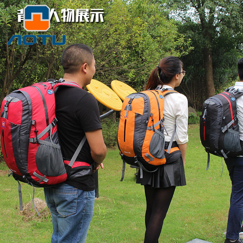 Outdoor Mountaineering Bag Men And Women Travel Bag Camping Backpack Computer Backpack AT6907 A Generation Of Fat