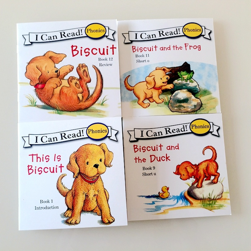 12 Books Biscuit Series Phonics English Picture libros   4
