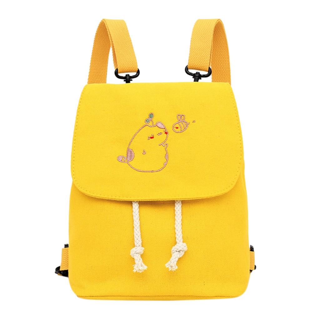 2019 Hot Selling Fashion Women's  Buckle Canvas Shoulder Bag Messenger Bag Shoulder Bag Support Wholesale Dropship
