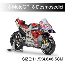 Maisto 1:18 MOTO18 Desmosedici 04# GP racing Model bike Alloy Motorcycle Model Motor Bike Miniature Race Toy For Gift Collection 1 10 maisto motorcycle toy alloy yamaha honda motorbike model racing motor miniature car models kids toys gift