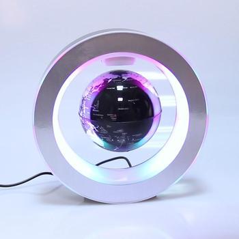 الجدة مصابيح LED مستديرة العائمة غلوب المغناطيسي الإرتفاع ليلة ضوء مكافحة الجاذبية الأفكار مصباح الكرة للأطفال أطفال هدايا خريطة العالم